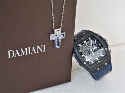 リッチな装いはダミアーニのネックレスとウブロ ビッグ・バンで作れる!