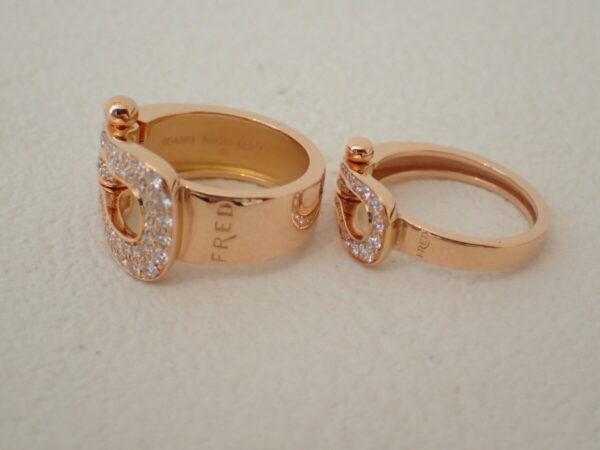 FREDのピンクゴールドが可愛い!フォース10リングをサイズ別で着け比べてみました ファッションジュエリー フレッド メンズジュエリー イベント・フェアー その他