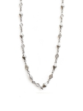 MIXED DIAMOND SHAPED/CROSS OPEN/SOLID LINK/チェーン