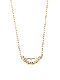 Bow Diamond Necklace S