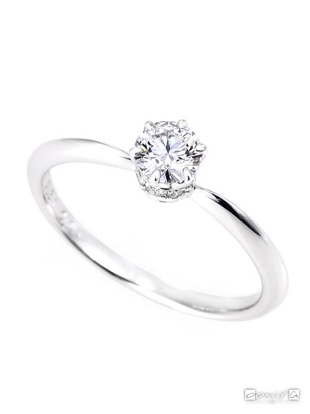 星の砂|SPICA - スピカ - HLS3600 婚約指輪(エンゲージリング)