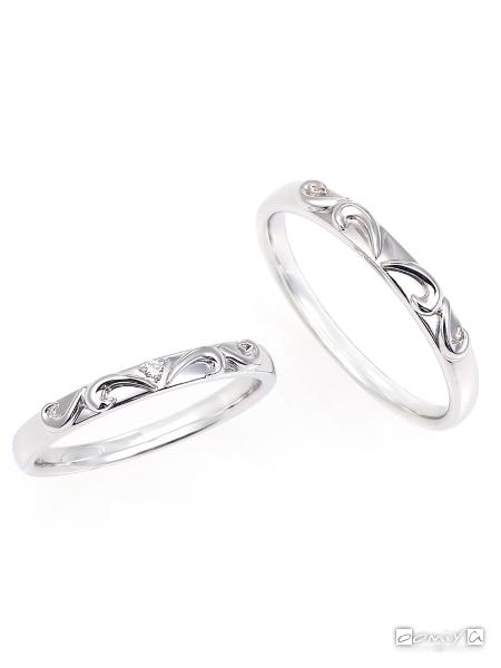 星の砂|ヴィーナス - HGS9610/HGS9590 結婚指輪(マリッジリング)