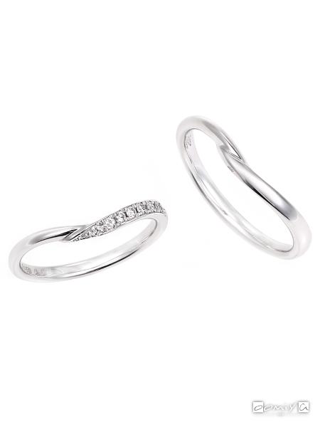 星の砂|ヴェスタ - HGS9580/HGS9570 結婚指輪(マリッジリング)