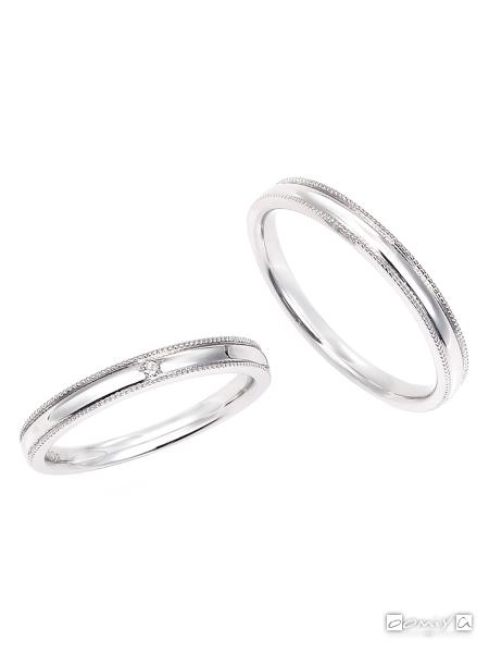 星の砂 ミラ - HGS9520/HGS9510 結婚指輪(マリッジリング)