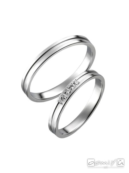 トゥルーラブ|プラチナ900 - P702/P702D 結婚指輪(マリッジリング)