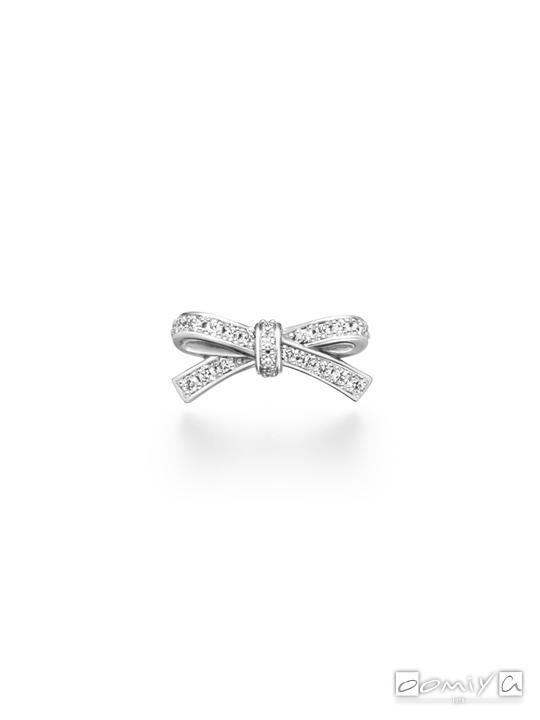 アーカー|プチリュバンダイヤモンド ピアス - AK1489100400