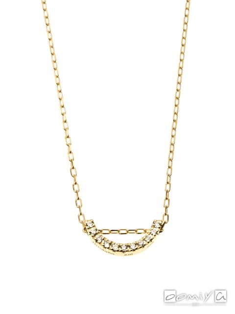 ヒロタカ|Bow Diamond Necklace S - BW02KDLS