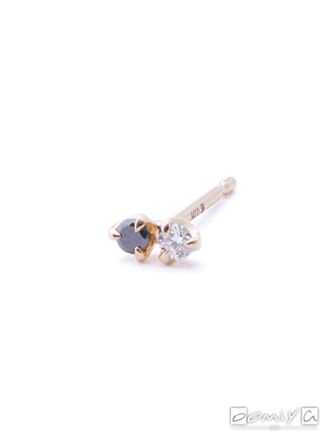 ヒロタカ|Bird Of Paradise Double Stone Earring - BP02GDE