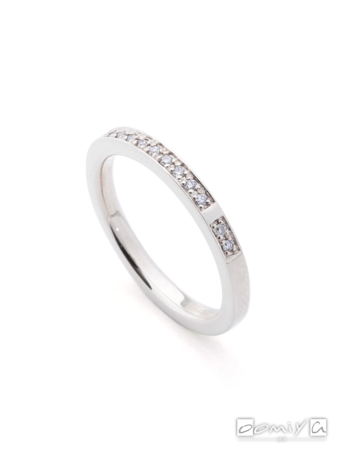 ヒロタカ|Diamond Stacking Ring - SR10HDR