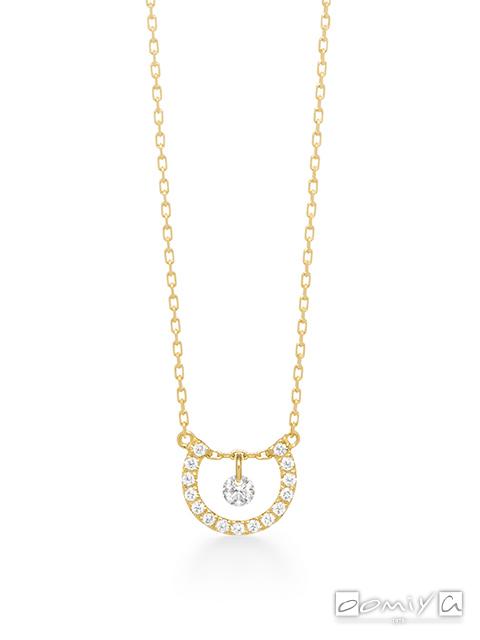 アーカー|ビンドゥアーチダイヤモンド ネックレス - AK1723010100