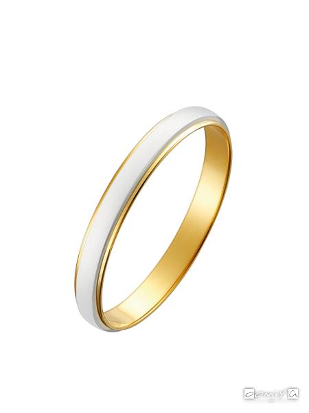 トゥルーラブ プラチナ900&K18イエローゴールド M801 - 結婚指輪(マリッジリング)