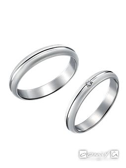 トゥルーラブ プラチナ900 - P314 / P314D 結婚指輪(マリッジリング)