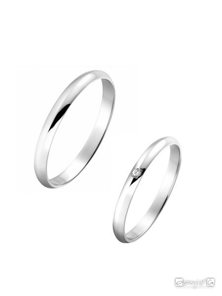 トゥルーラブ|プラチナ900 - P354 / P354D 結婚指輪(マリッジリング)