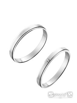トゥルーラブ プラチナ900 - P353 / P353D 結婚指輪(マリッジリング)