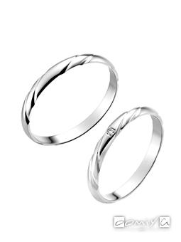 トゥルーラブ|プラチナ900 - P351 / P351D 結婚指輪(マリッジリング)