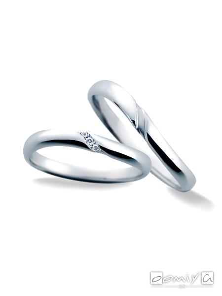 サムシングブルー|セントピュール SP812 / SP813 - 結婚指輪(マリッジリング)