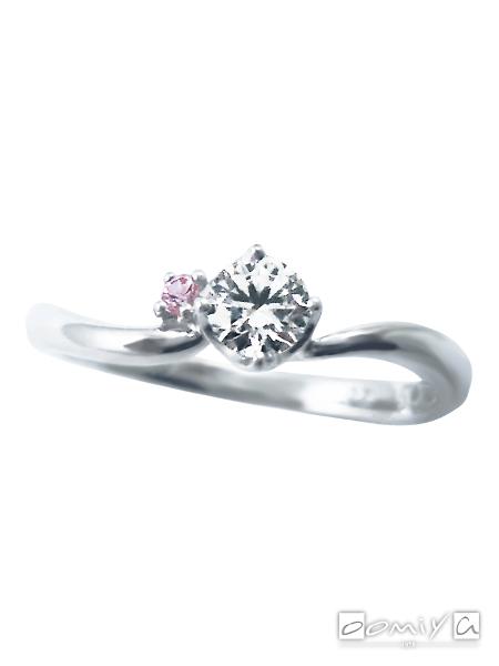 サムシングブルー|SWS003 - 婚約指輪(エンゲージリング)