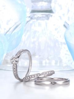 星の砂|ALBIREO - アルビレオ - HGS9540/HGS9530 結婚指輪(マリッジリング)