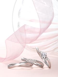 星の砂|ARIA - アリア - HGS9440/HGS9430 結婚指輪(マリッジリング)