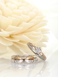 星の砂|ヴィーナス - HLS3790 婚約指輪(エンゲージリング)