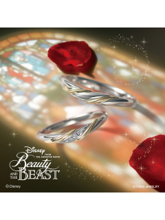 ディズニー 美女と野獣 ブライダルコレクション|3nd season 限定モデル<Beautiful Light> - BYL-321,BYM-322